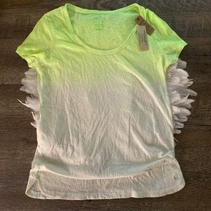 """AMERICAN EAGLE OUTFITTERS """"Favorite T"""" Ombré Top"""
